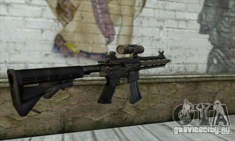 HK416 для GTA San Andreas второй скриншот