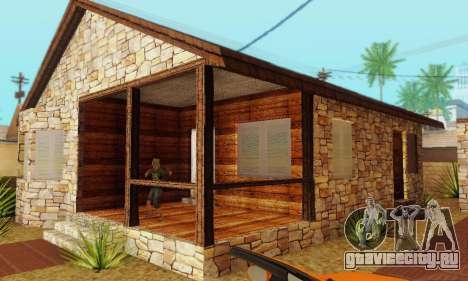 Новый дом Биг Смоука для GTA San Andreas четвёртый скриншот