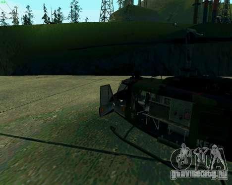 UH-1D Huey для GTA San Andreas вид слева