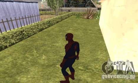 Новый человек-паук для GTA San Andreas пятый скриншот