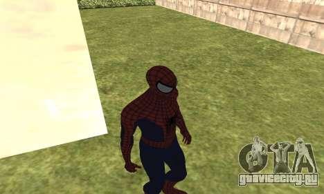 Новый человек-паук для GTA San Andreas третий скриншот