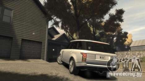 Range Rover Vogue 2014 для GTA 4 вид сбоку