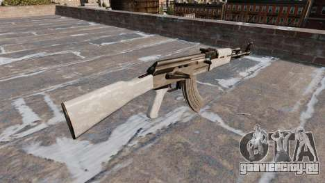 Автомат АК-47 ACU Camo для GTA 4 второй скриншот