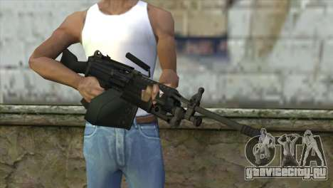 M249 SAW Machine Gun для GTA San Andreas третий скриншот