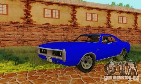 GTA 4 Imponte Dukes V1.0 для GTA San Andreas вид сзади