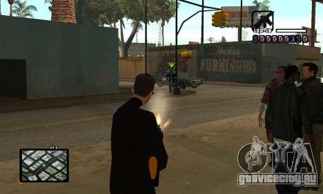 C-HUD by Miller для GTA San Andreas третий скриншот