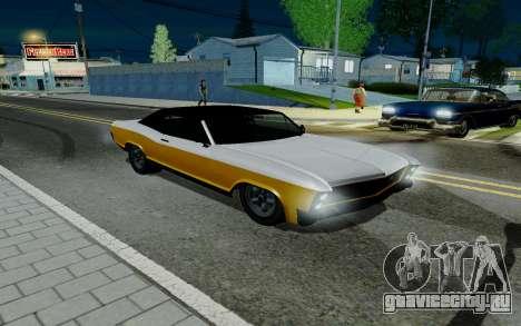 Albany Buccaneer из GTA 5 для GTA San Andreas
