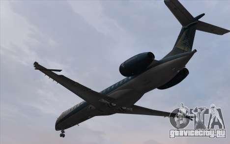 Embraer 145 Xp для GTA San Andreas вид сзади слева