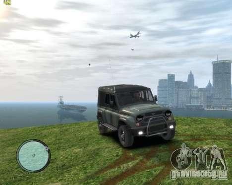 УАЗ-3159 Барс Тентованный для GTA 4 вид сзади слева