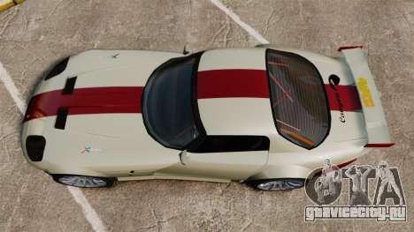 Bravado Banshee GT3 для GTA 4 вид справа