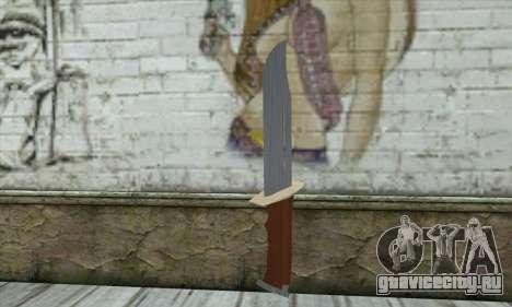 Военный нож для GTA San Andreas
