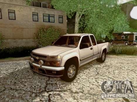 Chevrolet Colorado для GTA San Andreas салон