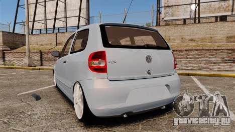 Volkswagen Fox для GTA 4 вид сзади слева