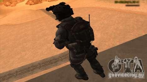 Sgt Keegan P.Russ из Call Of Duty: Ghosts для GTA San Andreas седьмой скриншот