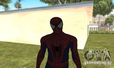Новый человек-паук для GTA San Andreas