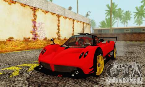 Pagani Zonda Type R Red для GTA San Andreas