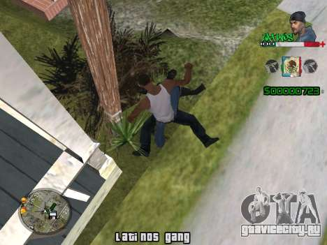 C-HUD Latinos by K.D для GTA San Andreas