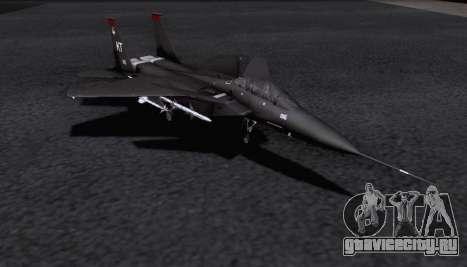 F-15S для GTA San Andreas вид сзади слева