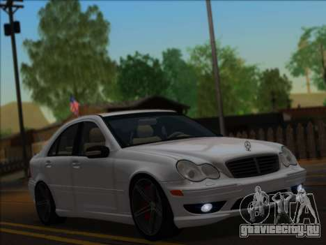 Mercedes-Benz C32 AMG Vossen V1.0 2004 для GTA San Andreas