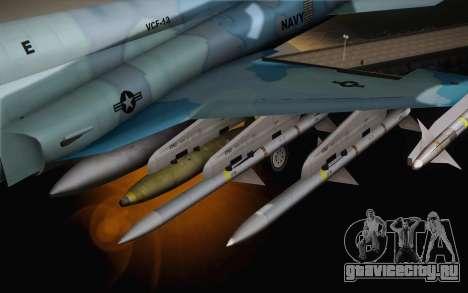 F-5E Tiger II для GTA San Andreas вид справа