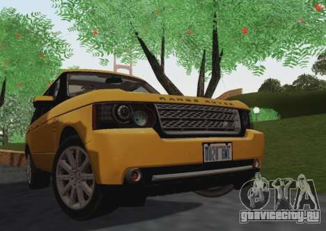 Range Rover Supercharged Series III для GTA San Andreas вид слева