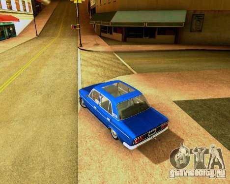Ваз 2103 Tuneable для GTA San Andreas вид сзади слева