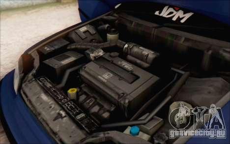 Honda CRX Türkiye для GTA San Andreas вид справа