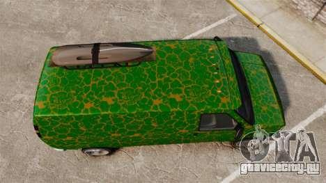 GTA V Bravado Rumpo для GTA 4 вид справа