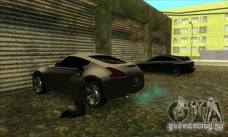 Автосервис Сиджея в Лас Вентурасе для GTA San Andreas второй скриншот