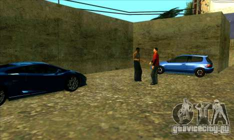 Автосервис Сиджея в Лас Вентурасе для GTA San Andreas третий скриншот