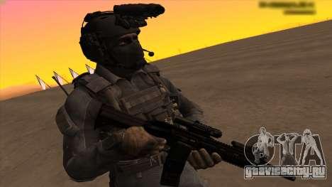 Sgt Keegan P.Russ из Call Of Duty: Ghosts для GTA San Andreas четвёртый скриншот