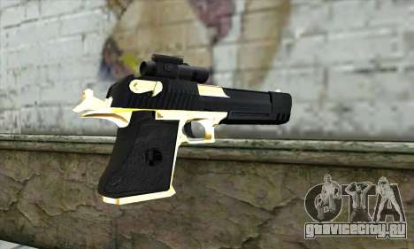 Golden Desert Eagle для GTA San Andreas второй скриншот