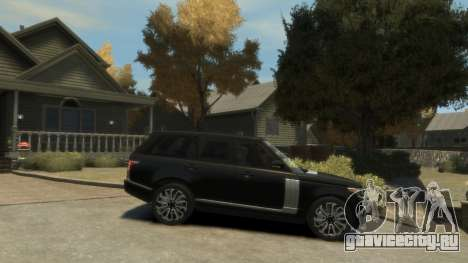 Range Rover Vogue 2014 для GTA 4 вид слева