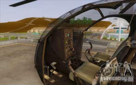 MH-6 Little Bird для GTA San Andreas вид справа