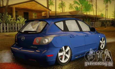 Mazda Axela Sport 2005 для GTA San Andreas вид слева
