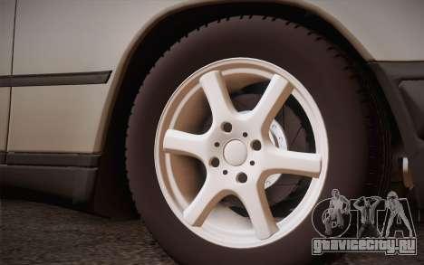Mercedes-Benz E-Class W124 Kombi для GTA San Andreas вид сзади