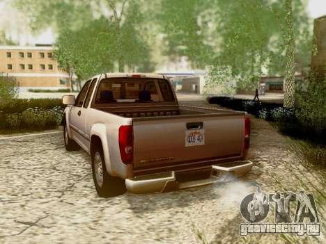Chevrolet Colorado для GTA San Andreas колёса