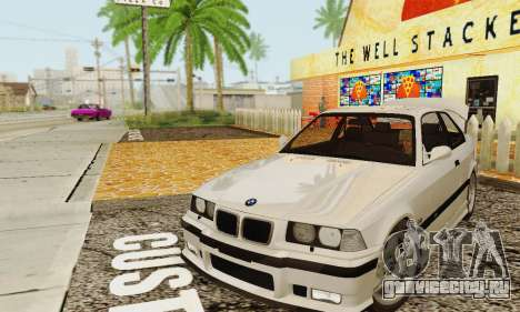 BMW E36 M3 1997 Stock для GTA San Andreas