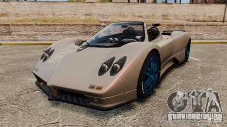 Pagani Zonda C12 S Roadster 2001 PJ1 для GTA 4