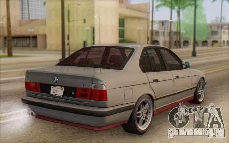 BMW M5 E34 1995 для GTA San Andreas вид слева
