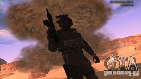 Sgt Keegan P.Russ из Call Of Duty: Ghosts для GTA San Andreas третий скриншот