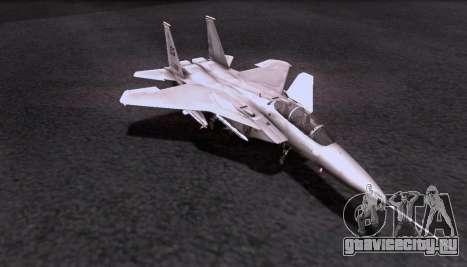 F-15S для GTA San Andreas вид сзади