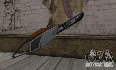 Chainsaw для GTA San Andreas второй скриншот
