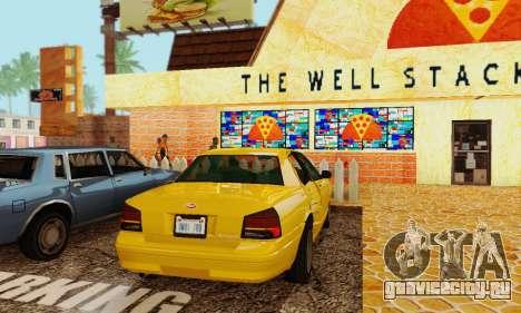 Vapid Stanier II 1.0 для GTA San Andreas вид сзади
