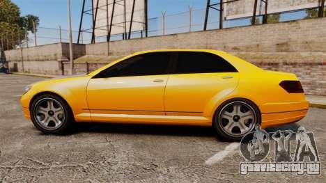 Benefactor Schafter 2014 для GTA 4 вид слева