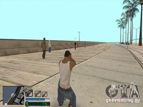C-HUD by Stafford для GTA San Andreas второй скриншот