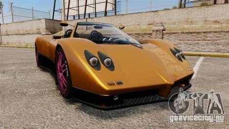 Pagani Zonda C12 S Roadster 2001 PJ2 для GTA 4