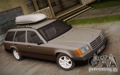 Mercedes-Benz E-Class W124 Kombi для GTA San Andreas вид сзади слева