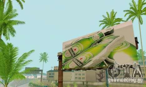 Новая качественная реклама на плакатах для GTA San Andreas восьмой скриншот