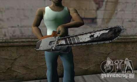 Chainsaw для GTA San Andreas третий скриншот